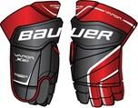 Vonkajší materiál rukavíc BAUER Vapor X 80 je vytvorený z kombinácie  syntetickej kože a pružného materiálu Nylon Mesh. Materiál dodáva rukavici  lepšiu ... a08feb1c94