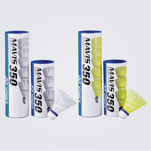 065235828 Badmintonové košíky YONEX Mavis 350 biele   MULTI Šport